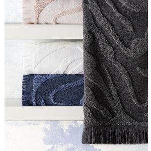Kassatex Mali Bath Towel Charcoal Collection